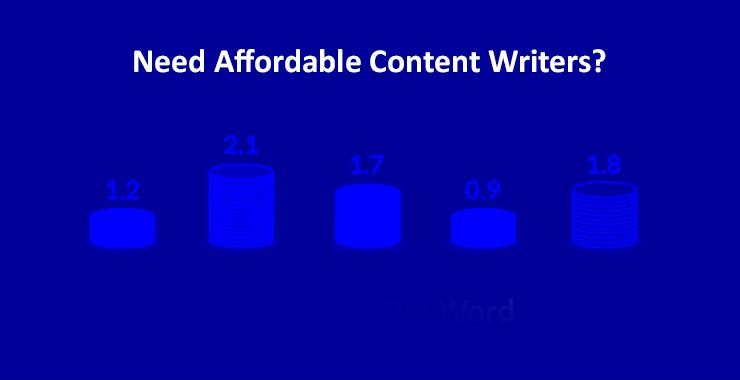 Affordable content writer