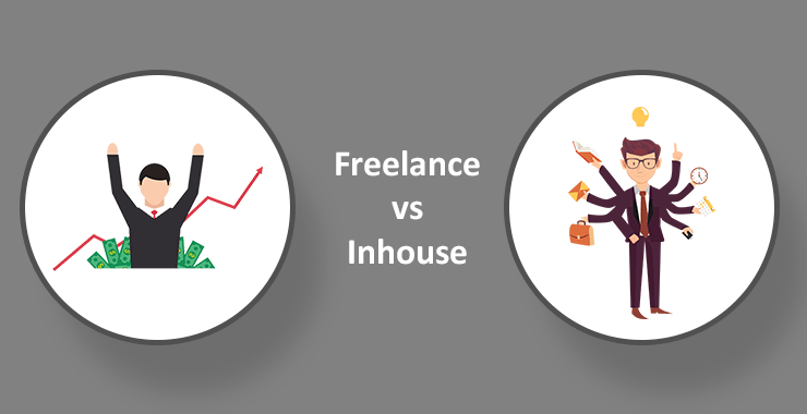 Freelance vs in-house content writer