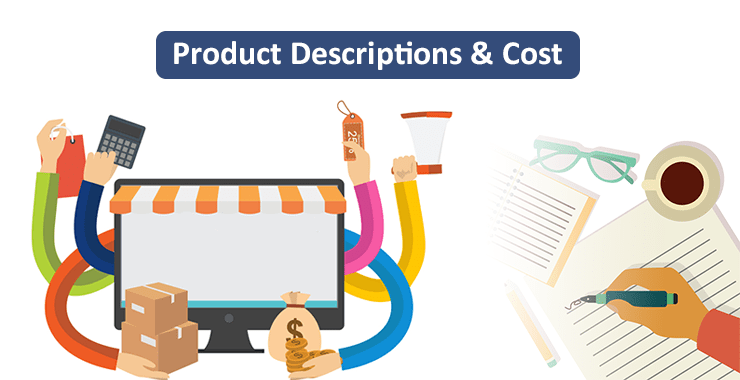 Product description cost