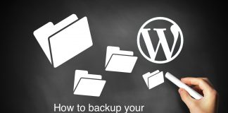 How to backup your WordPress website?