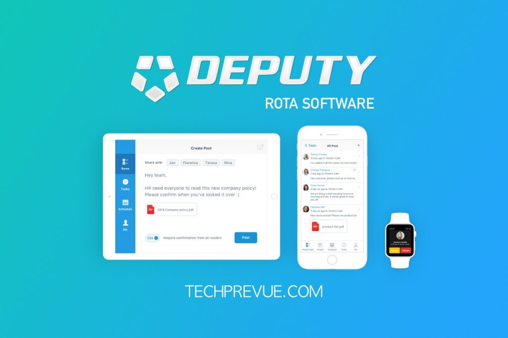 Deputy Rota Software Review
