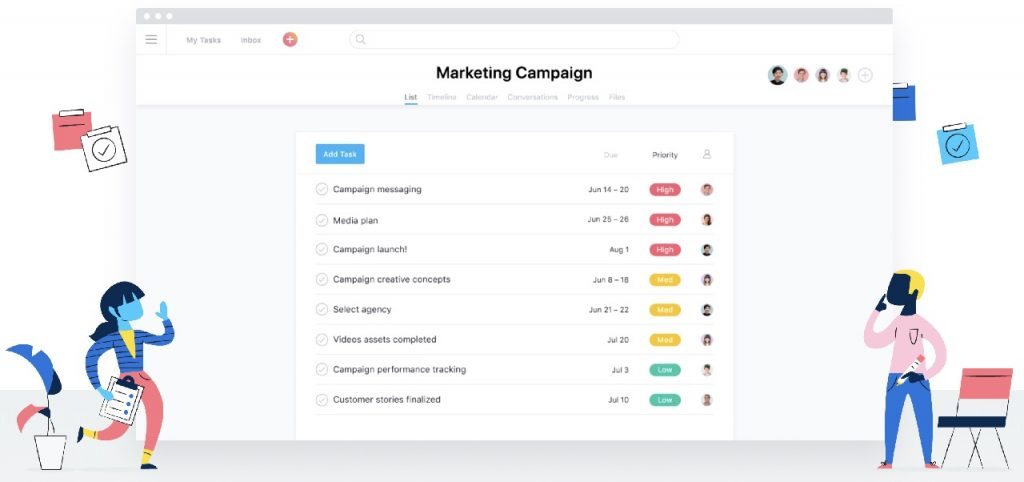 Asana - A project management tool