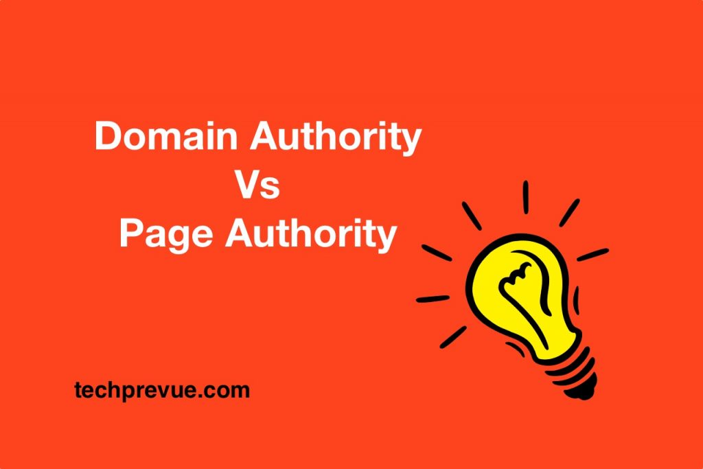 Moz Domain authority vs Page authority