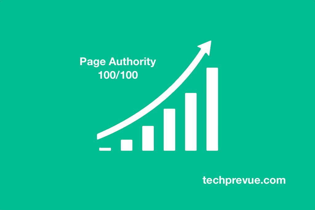 Moz Pro Page Authority