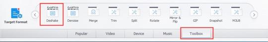 VideopProc toolbox