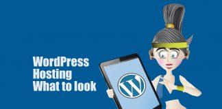 WordPress hosting what to look