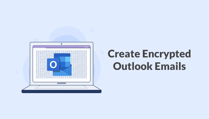 Create encrypted emails