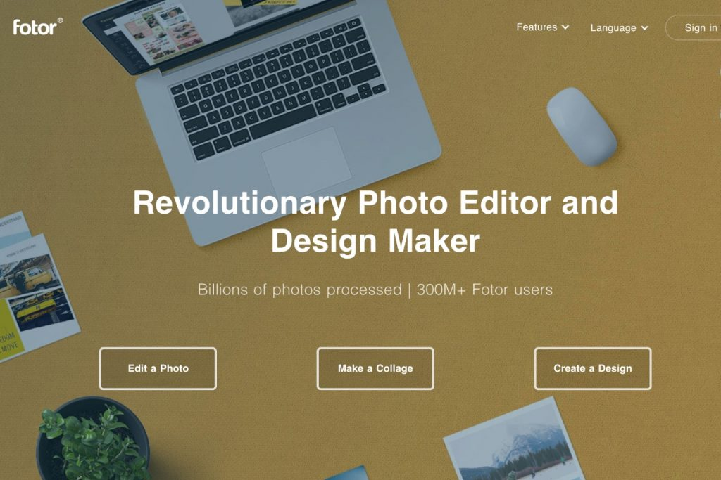 Fotor - free online graphic design tools