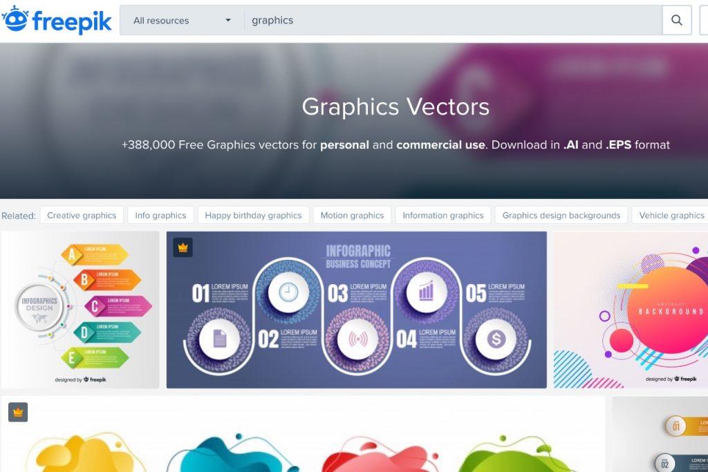 Freepik- free online graphic design tools