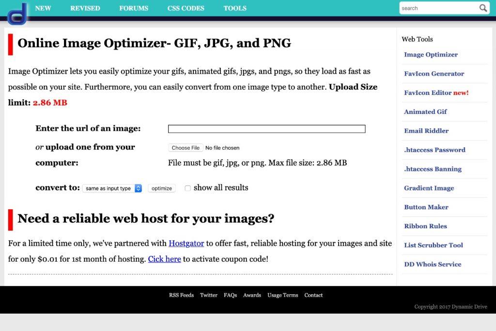 Online image optimizer- free online graphic design