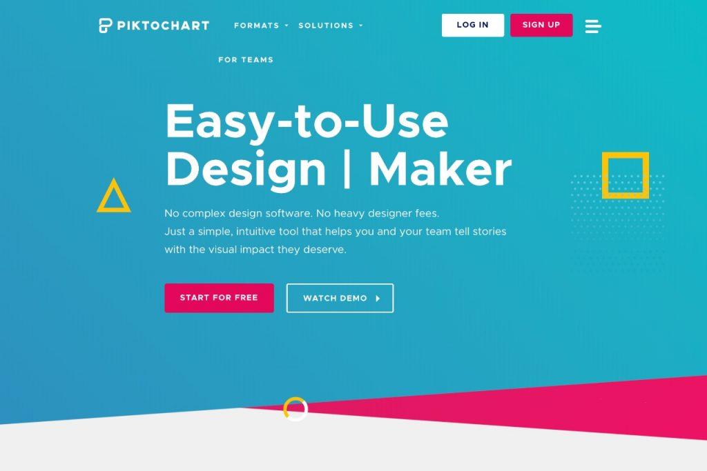 Piktochart - free online graphic design