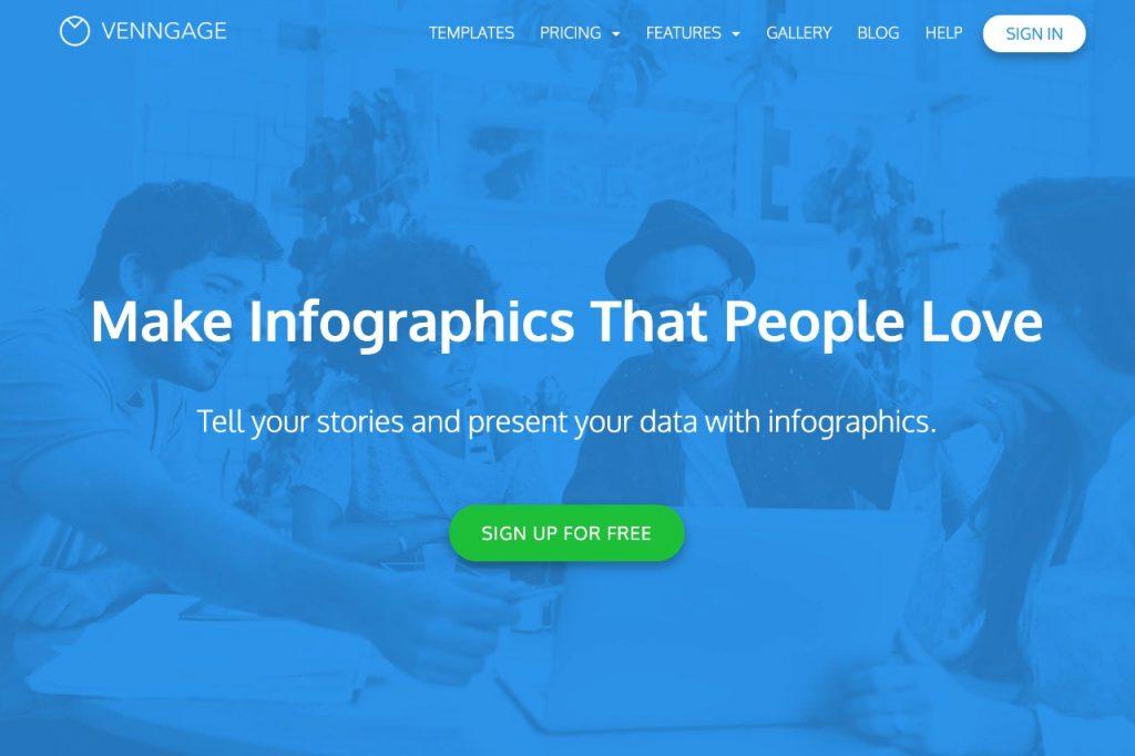 Venngage infographic maker