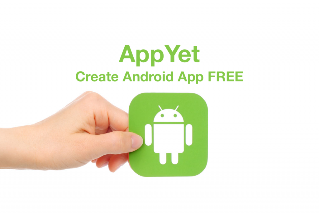 AppYet Create Android App Free - Create Android App Using AppYet App Creator