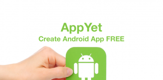 Create Android App Using AppYet App Creator