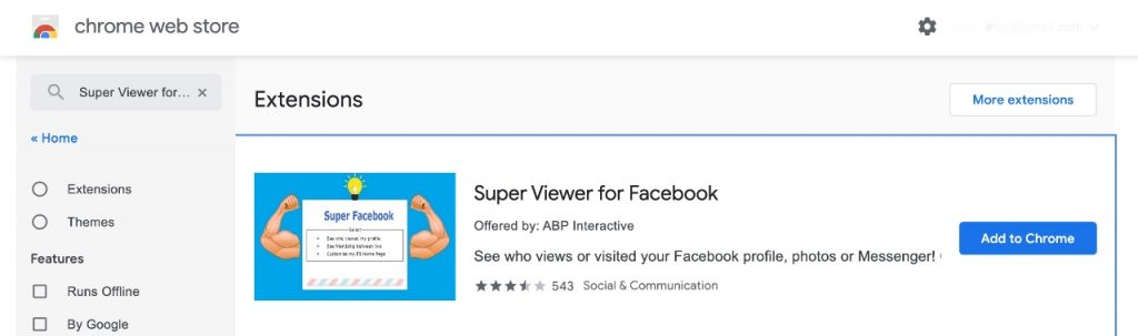 Super viewer for Facebook