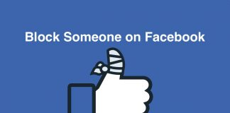 How to block someone of Facebook