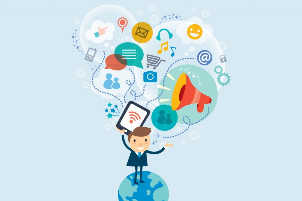 The advantages of social media for business