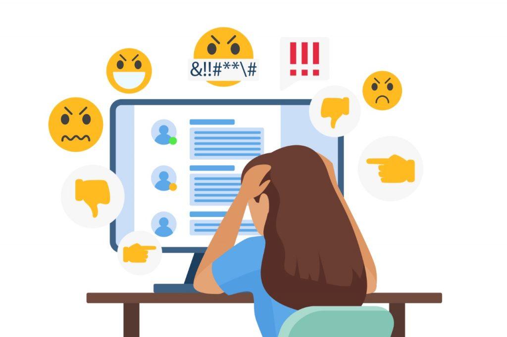 Disadvantages of social media cyberbullying