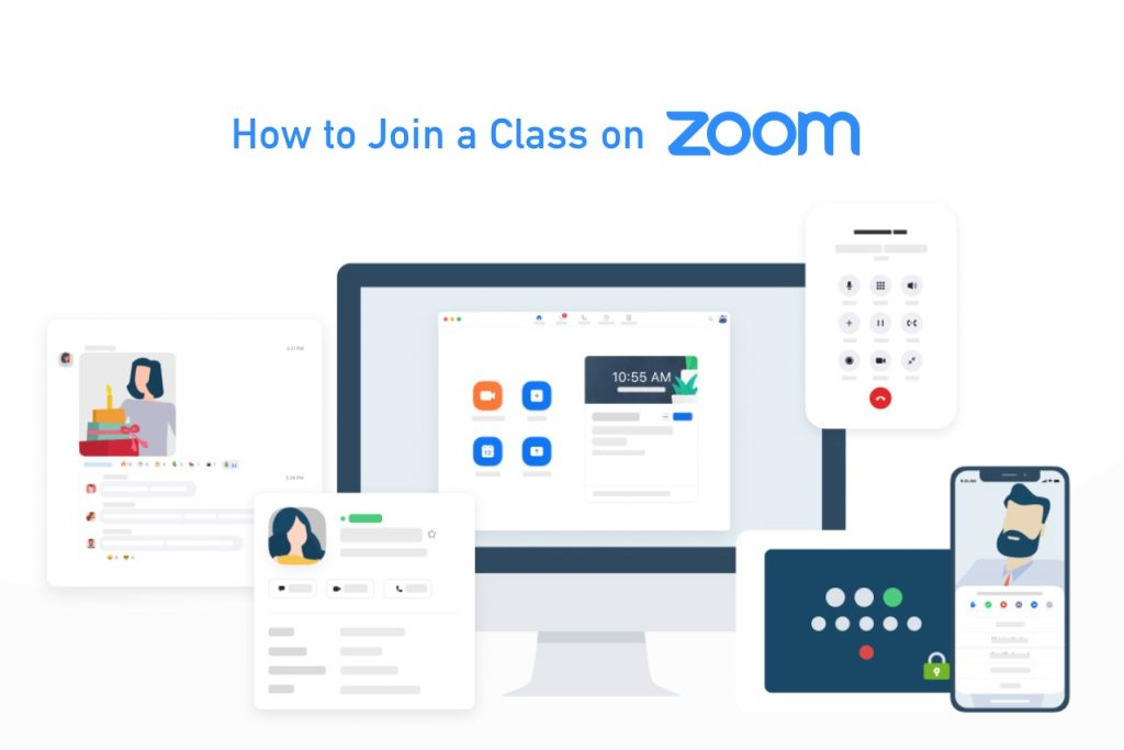 How to join a class on zoom