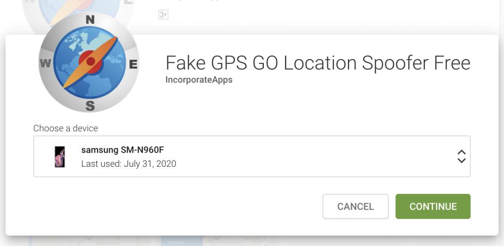 Install Fake GPS GO Location Spoofer Free App