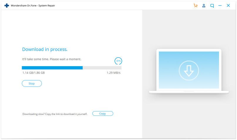 Wondershare Dr.Fone iOS system repair 03