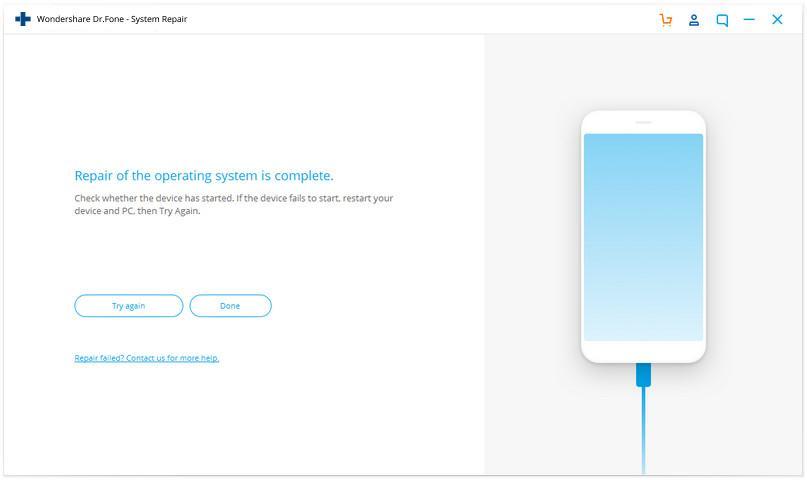 Wondershare Dr.Fone iOS system repair 05