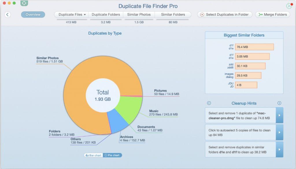 MacCleaner Pro - Duplicate file finder pro