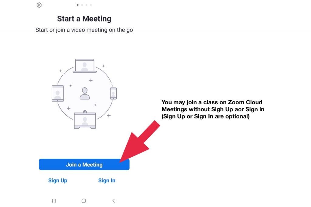 How to join a class on zoom cloud meetings