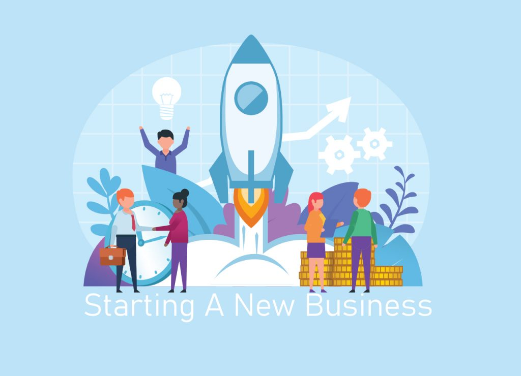 Steps for starting a new business