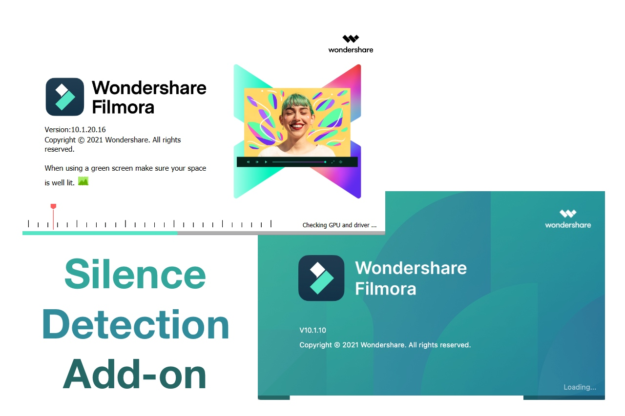 Silence detection add-on for Wondershare Filmora X