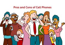 The pros and cons of cell phones
