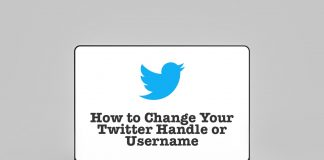 How to change Twitter username