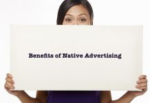 The benefits of native advertising