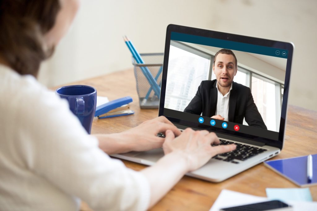 Remote witness interview