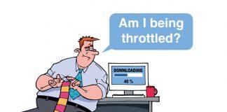 What is bandwidth throttling
