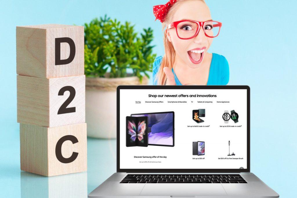 Samsung - World's Biggest D2C E-commerce Brand