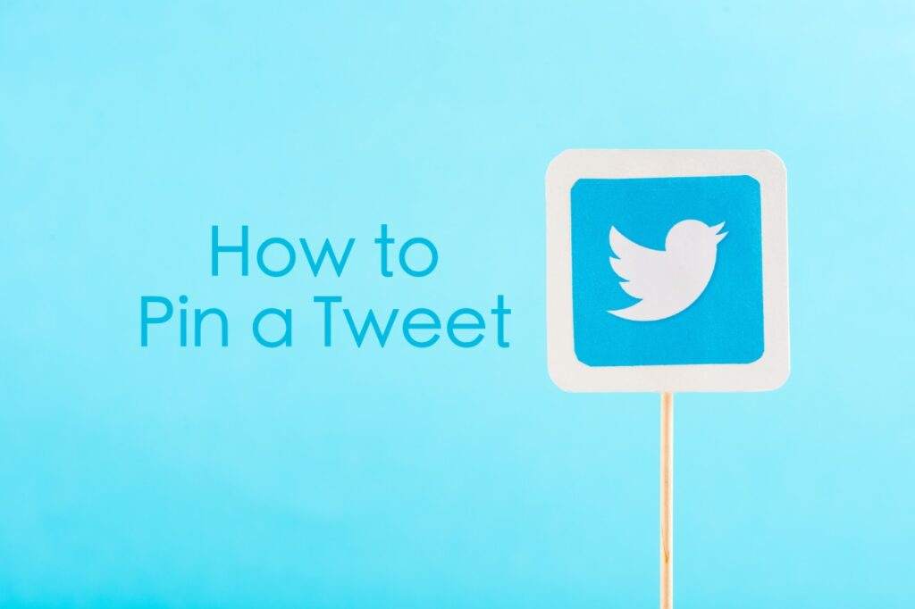 How to pin a tweet on Twitter profile
